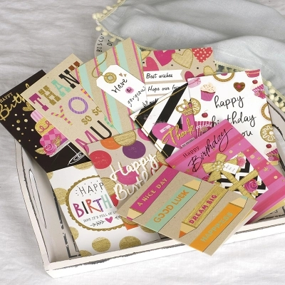 New Cute Birthday Cards Happy Greeting Kids Glitter Gift Party Suplies