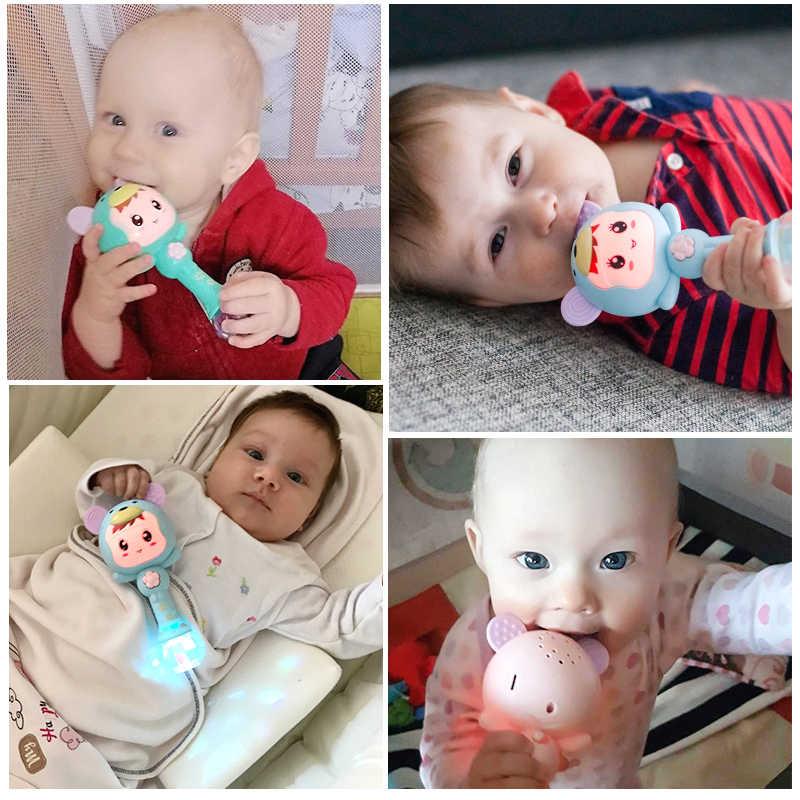 Baby rattle เพลงพลาสติก 0-12 เดือนเตียงมือถือนุ่ม rattle มือค้อนการศึกษาของเล่นเด็ก