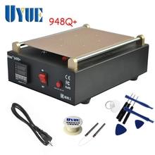 UYUE 948Q Built in Vacuum Pump Mobile phone LCD Screen Separator Machine Max 11 inches Lens