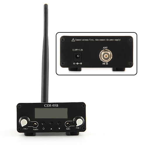 FMUSER hot CZH-05B 0.5w FM zender PLL 76-108Mhz radio Broadcast - Home audio en video - Foto 3