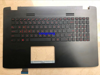 keyboard For ASUS ZX50J ZX50JX GL752JW GL552 FX PRO Flying Fortress 6700 Keyboard C Shell 95% new