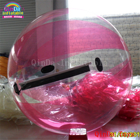 Hot water game toys ball walking on water,inflatable giant globe waterball with free pump