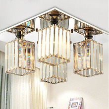 2016 New ! Crystal Lighting Chandeliers Modern crystal chandelier for Dining table living room lights crystal Chandelier lustre