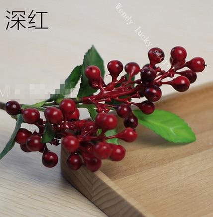 Home Decor Wedding Props Artificial Fruits Simulation Shooting Props Boutique Fruit Flower 24cm China