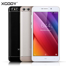 XGODY S10 Mobile Phone 5.2 Inch RAM 1GB ROM 8GB Quad Core Smartphone Android 8MP Dual SIM Cards GPS Beauty Camera 3G Cell Phone