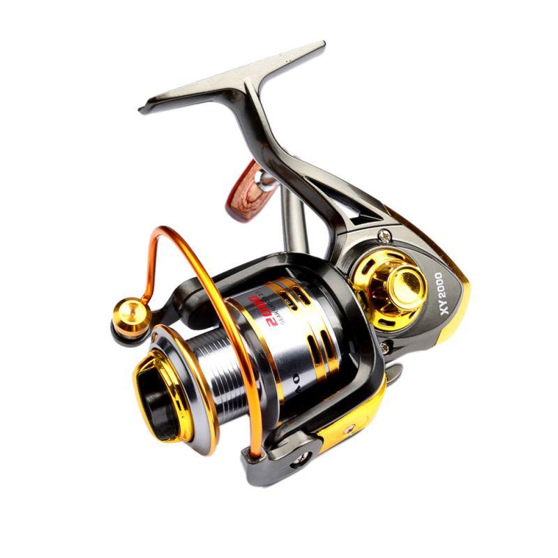 Aluminum Alloy 12B Bearing Balls Spinning Fishing Reel 2000/3000 Series Spinning Reel Boat Rock Fishing Wheel