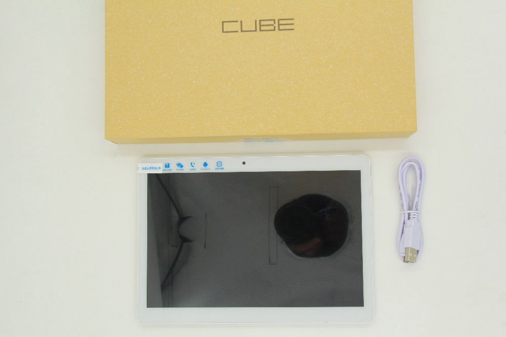Original 9 6 inch IPS Cube U63 Android 5 1 Phone Call Tablet PC MTK6580 Quad