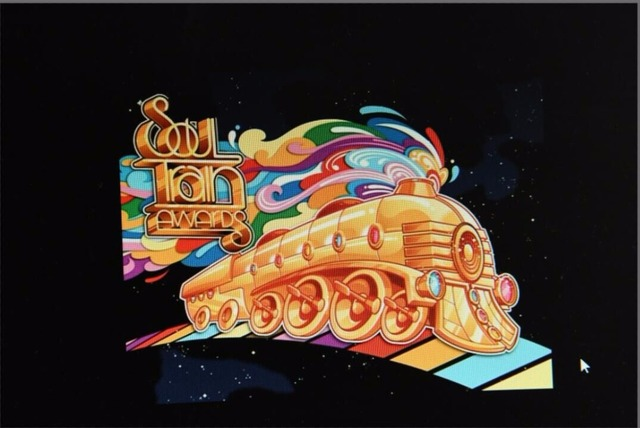 7x5FT Black Night Sky Soul Train Custom Photo Background
