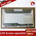 """Gread a + 15.6 """"laptop 1920x1080 led panel de visualización de la pantalla lcd para dell xps 15 l501x l502x 40 pins"""