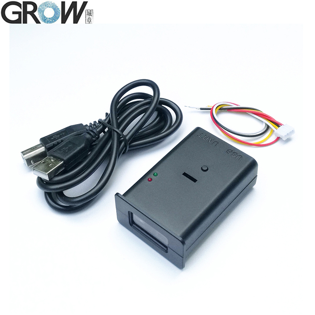 US $24 9 |GROW GM66 New Design 1D 2D Code Scanner Bar Code Reader QR Code  Reader Module-in Fingerprint Recognition Device from Security & Protection