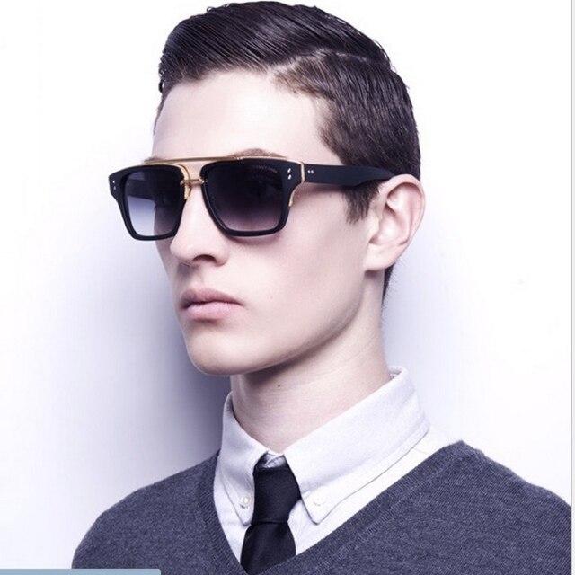 2015 Europe et états-unis tendance rétro lunettes de soleil mode Metallic  Cool lunettes pour 72a79215ed07