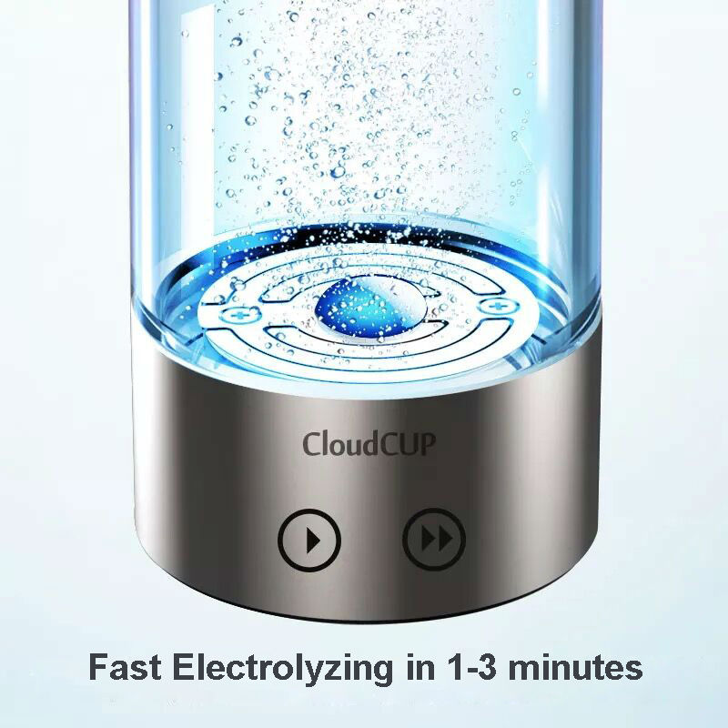 Japanese Titanium Quality Hydrogen Rich Water Cup Ionizer Maker Generator TWO modes super antioxidants ORP hydrogen