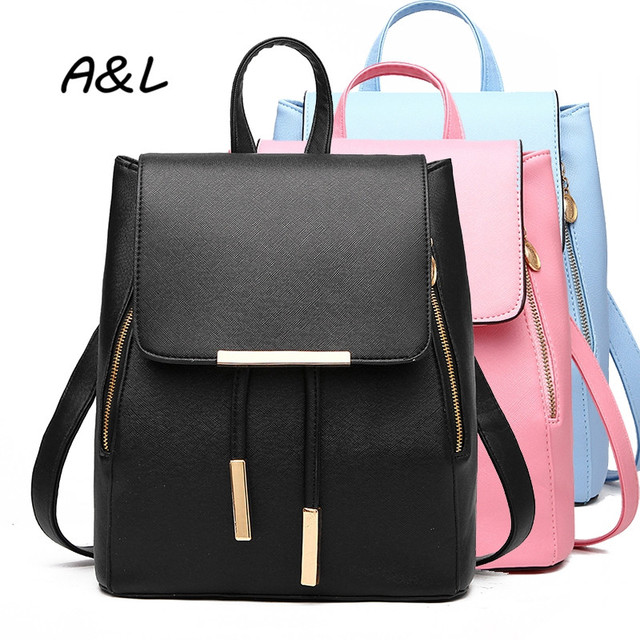 Aliexpress.com : Buy Women Backpack Korean Brand Designer PU ...