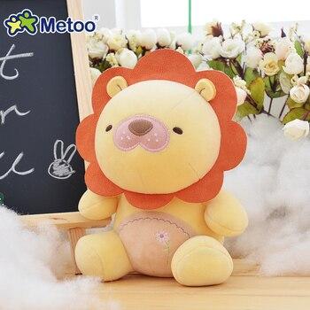 Мягкие плюшевые игрушки-зверюшки Metoo, 19 см. 4