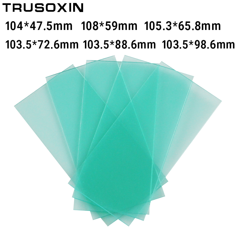 Couvercle de lentille en plastique de protection intérieure du masque de soudage auto-assombrissant/filtre de soudage/casque de soudage/filtre de soudeur