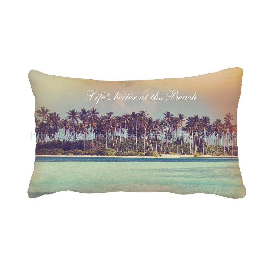 Beach Coconut Tree Print Personalised Custom Design Chair