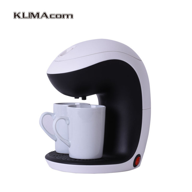 2 Cup Coffee Tea Maker Electric Mini Machines For The Office Cafetera