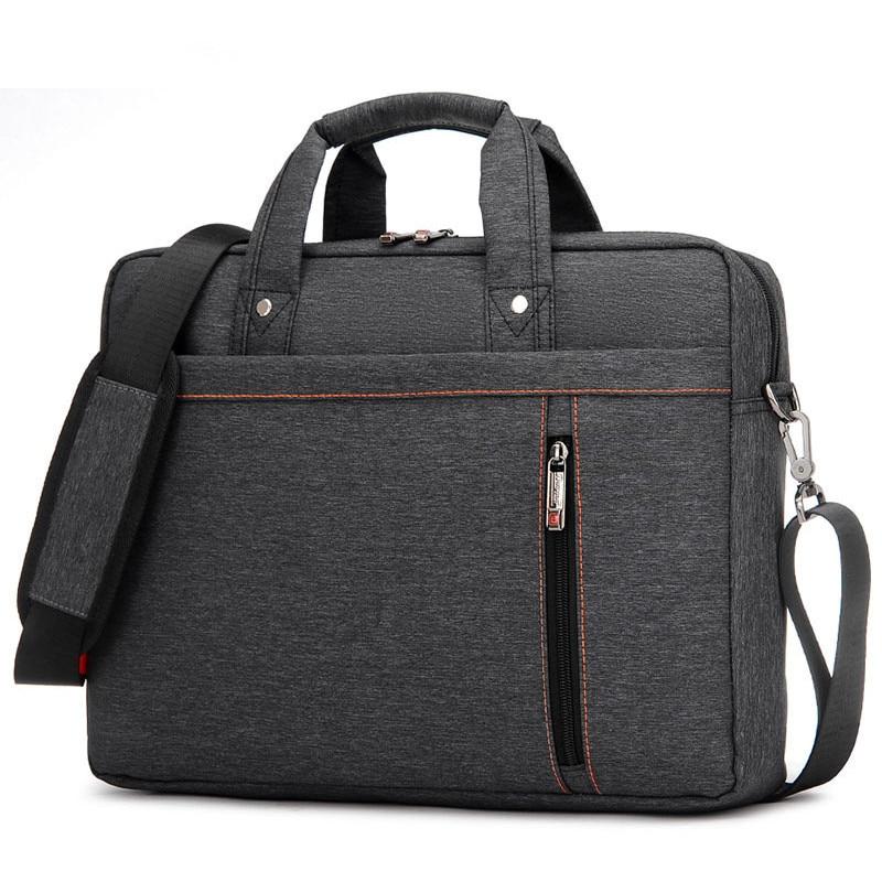 Image 2 - Waterproof Computer Laptop Bags Notebook Tablet Case Messenger Shoulder Bag for Men/Women 13 14 15 17 Inches