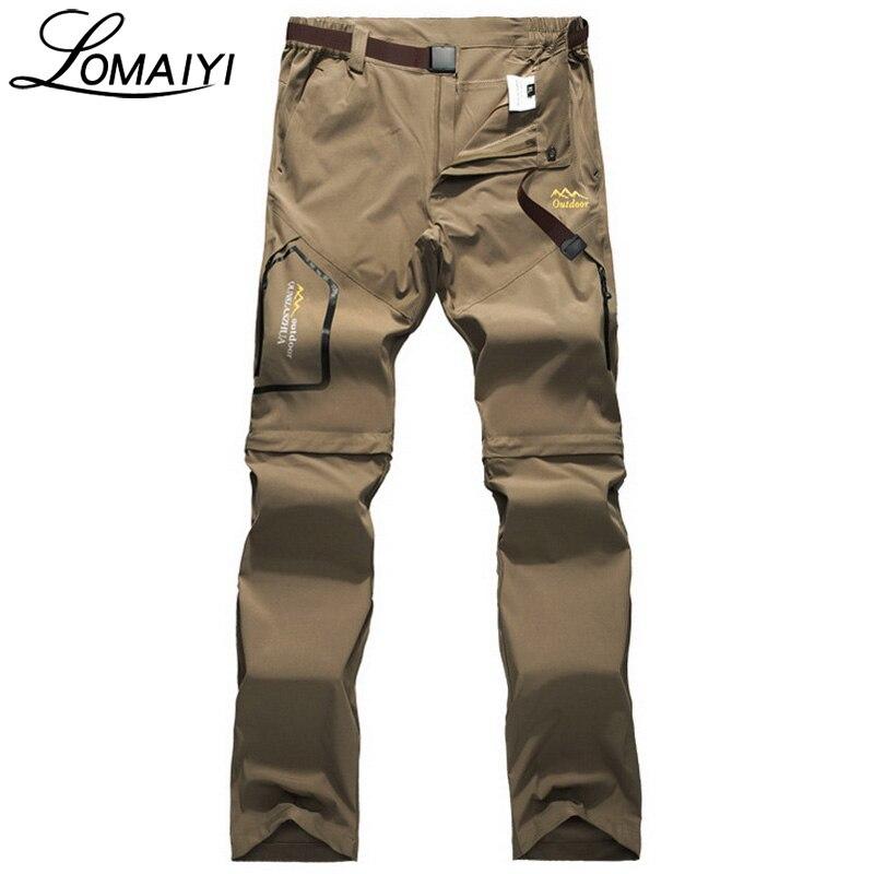 Lomaiyi Многофункциональный High Stretch Slim Брюки Карго Для мужчин Для женщин летние S-6XL повседневные штаны джоггеры работы Треники, am051