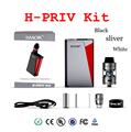 Original SMOK H-Priv 220W Mod Start kit with Top Filling Micro TFV4 Basic Tank and Top Display Screen Innovative HPRIV X tube