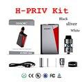 Original smok h-priv 220 w mod kit start com enchimento top micro TFV4 Tanque Básico e Superior Screen Display Inovador HPRIV X tubo