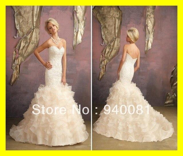 Us 188 0 Modest Wedding Dresses Off The Rack Short Uk Yellow Fashion Mermaid Floor Length Court Train Ruffles Sweetheart Wi 2015 In Stock In Wedding