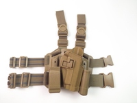 FS Marca Leg Holster Per SIG 220/228/229 P226 Tactical Airsoft Mano Destra Holster Set (Pannello + Holster + Belt Loop)