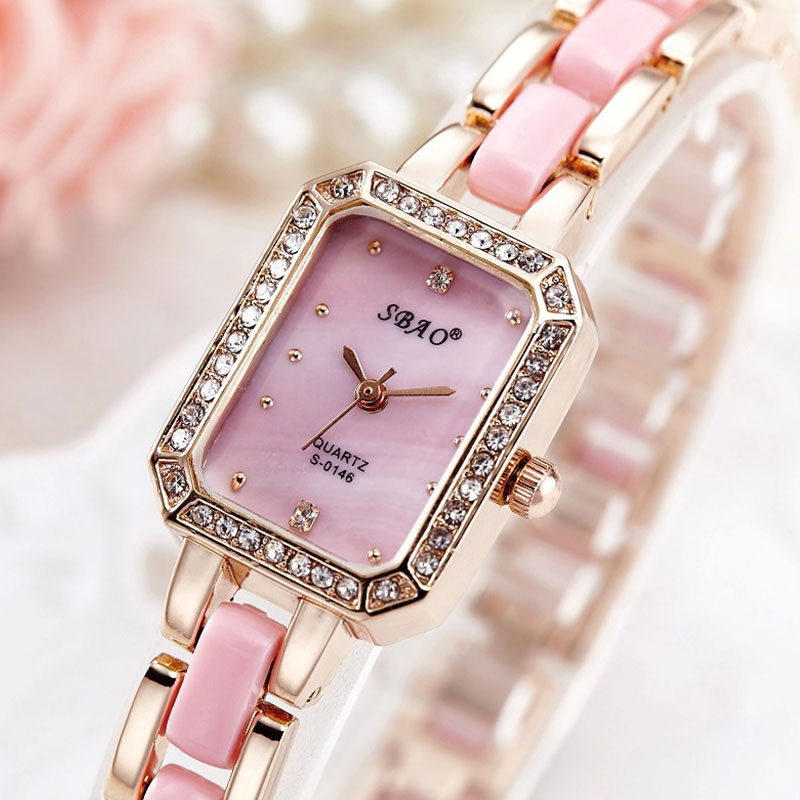 SBAO 2017 Quartz Watch Women Watches Ladies Luxury Brand Fanous Wrist Watch For Women Female Clock Montre Femme Relogio Feminino стоимость