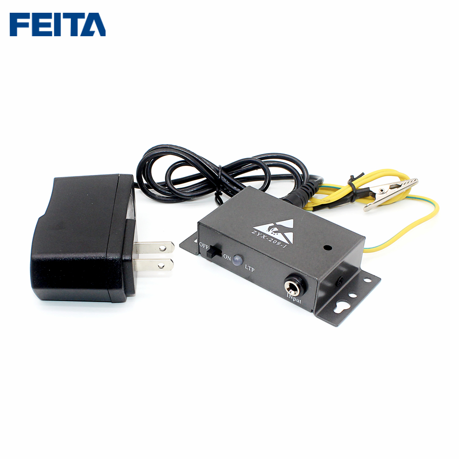 Feita 209-i Auto-alarm Anti Static Esd Wrist Strap Tester One Output Anti-static Online Monitor For Anti-static Electronic Diy Factories And Mines