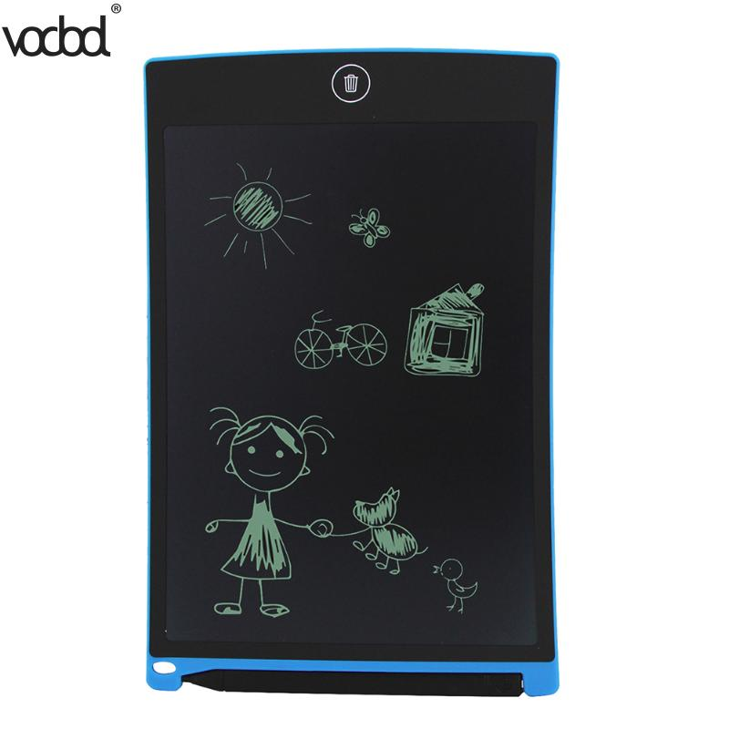 VODOOL 8.5 inch Electronic Notepad Graffiti Drawing ePaper Digital LCD eWriter Kits Photo Painting Tablet Writing Pad