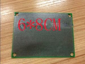 Image 2 - 無料な shippin 10pc グリーンマスク pcb 6*8 センチメートル pcb 両面 hasl 1.6 厚い 1.27 ピッチユニバーサル回路基板