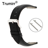 18mm 20mm 22mm First Layer Genuine Leather Watch Band Quick Release Strap Universal Watchband Strap Wrist