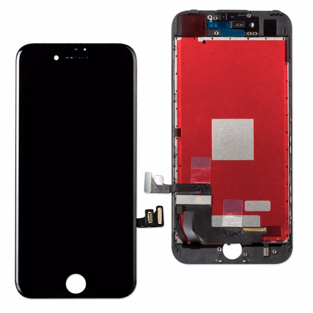 HTB1bFp8XC3PL1JjSZPcq6AQgpXa8 1Pcs OEM LCD For iPhone 7 7 Plus Display Full Set Digitizer Assembly 3D Touch Screen Replacement +Front Camera+Earpiece Speaker
