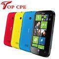 Lumia 510 Оригинальный разблокирована Nokia 510 mobile телефон 5MP 4.0 ''Windows OS RAM 256 ROM 4 ГБ 1300MA МБ 3 Г Восстановленное Телефон