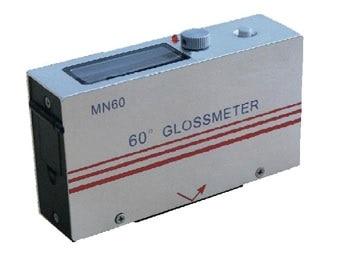 Aletler'ten Parlaklık Ölçerler'de Kavisli Yüzey parlaklık ölçer Göstergesi Glossmeter 60 derece açı Ölçüm pencere 4mm dia. küçük yüzey Ücretsiz Kargo title=