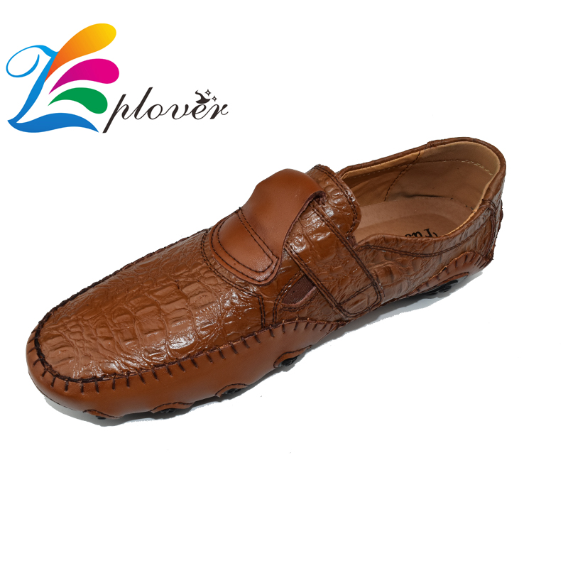 Zplover Big Size 2016 New Men Flats 100% Genuine Leather Slip On Men Loafers Moccasins Sapatos Masculinos Social Zapatos Hombre dxkzmcm new men flats cow genuine leather slip on casual shoes men loafers moccasins sapatos men oxfords