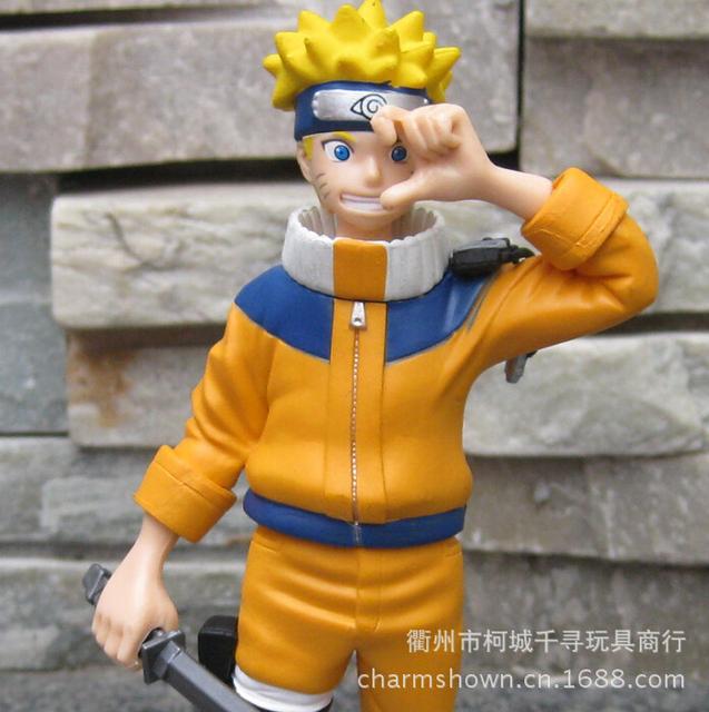 Naruto Uzumaki Uchiha Sasuke Figures Anime PVC Toys