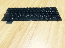 New notebook laptop keyboard for Dell Inspiron 13 7348 7347 7359 15 7548 7547 backlit RU/Russian  layout