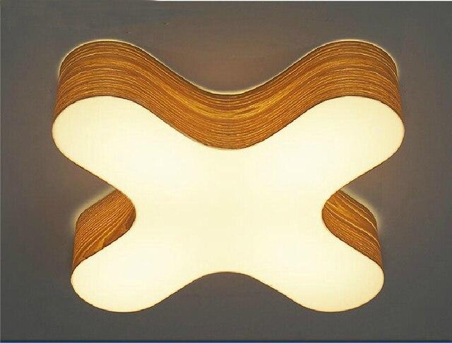 Consegna libera di trasporto soffitto in legno lampada albergo