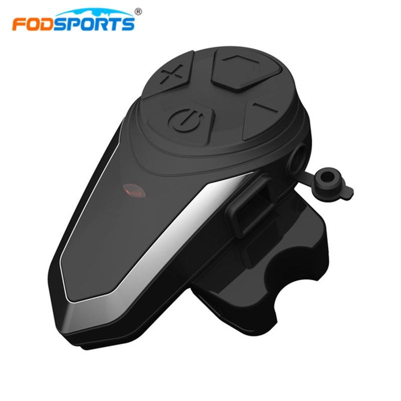 Motorcycle Intercom BT-S3 Helmet Headsets Wireless Bluetooth Interphone Handsfree Waterproof FM Radio 5 languages Manual