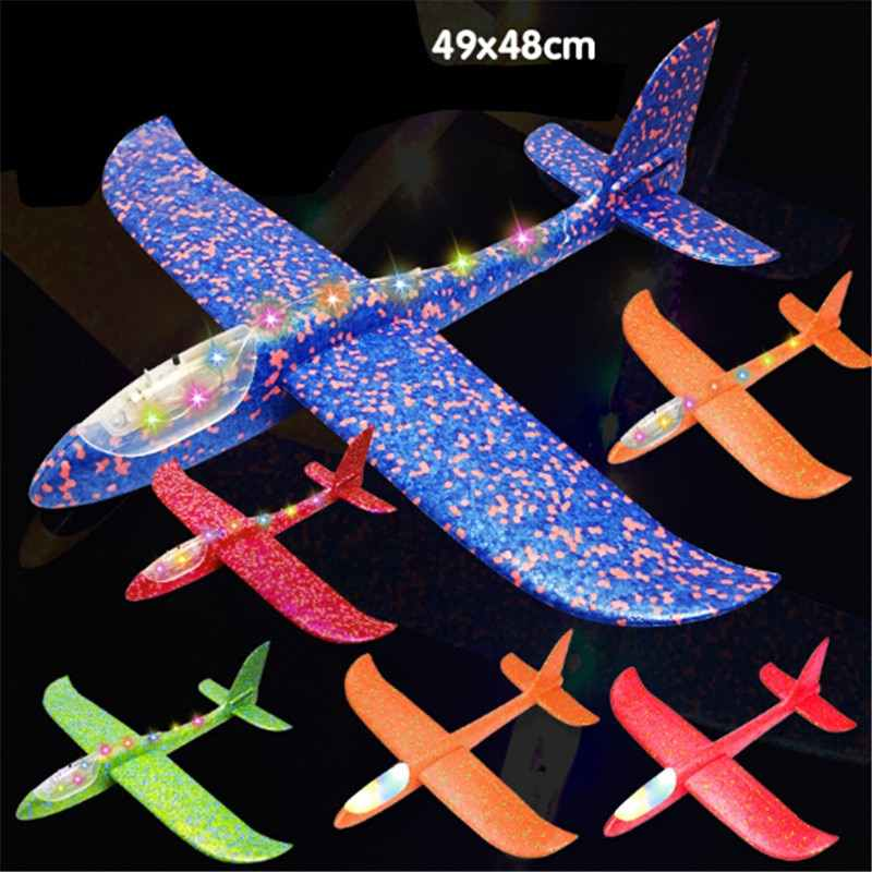 2018 Tự Làm Đồ Chơi Trẻ Em Tay Ném Bay Lượn Máy Bay Xốp Aeroplane Mẫu Túi Dự Tiệc Chất Độn Bay Lượn Máy Bay Đồ Chơi trẻ Em Chơi Game
