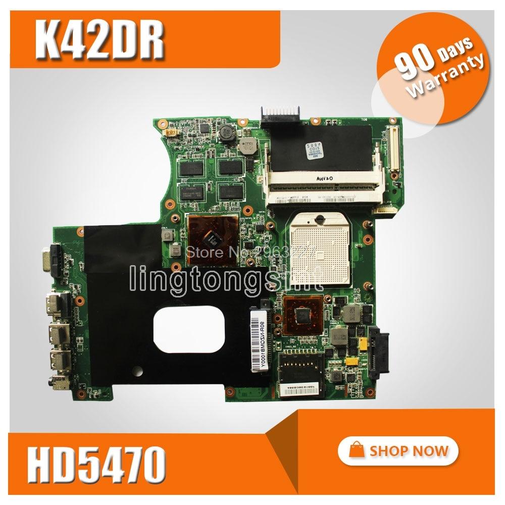 For ASUS K42DR Motherboard fit laptop A42DE K42DE A42DR K42DE K42DR K42DY X42D X42DR X42DE mainboard