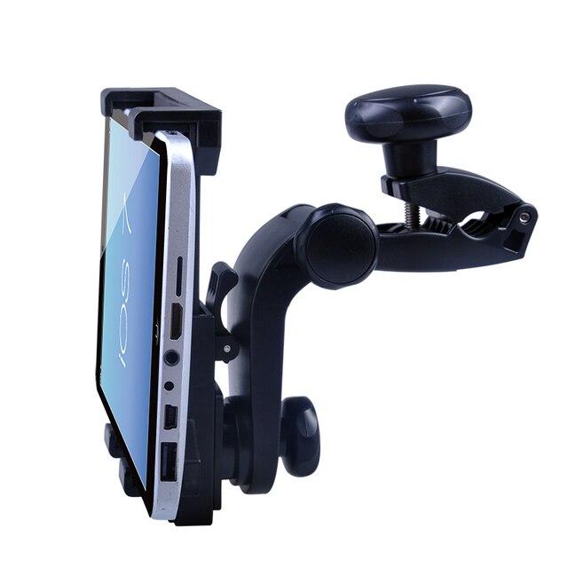 Novo design de assento de carro de volta suporte de montagem suporte para ipad 4 xiaomi 7 polegada-11 polegada apoio tablette voiture