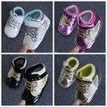 Recién nacido Bebé de la Lona Primeros Caminante Bebés moda Niño Suave Para niños niñas/niños calzado