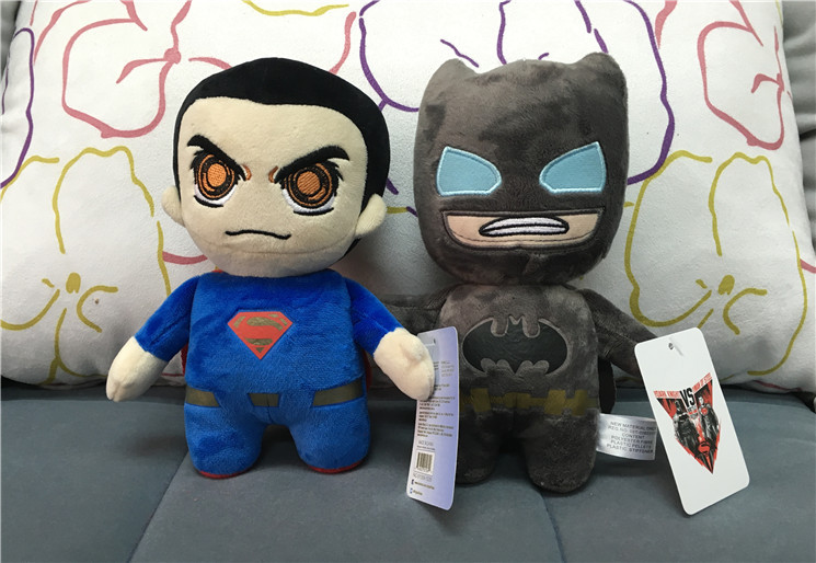 1PC Batman V Superman Dawn Of Justice PLUSH TOY STUFFED DOLLS MOVIE TV Stuffed Animals Nano Dolls Soft Toys In From Hobbies On Aliexpress
