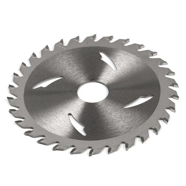 Hoge 1 Pc 125/110 Mm * 20 Mm 24T/30T/40T Tct Saw blade Hardmetalen Hout Slijpschijf Voor Diy & Decoratie Algemeen Hout Snijden