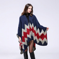 New design Bohemian style scarf pashmina women's winter warm Scarves shawls female longer thicken wild cape poncho women
