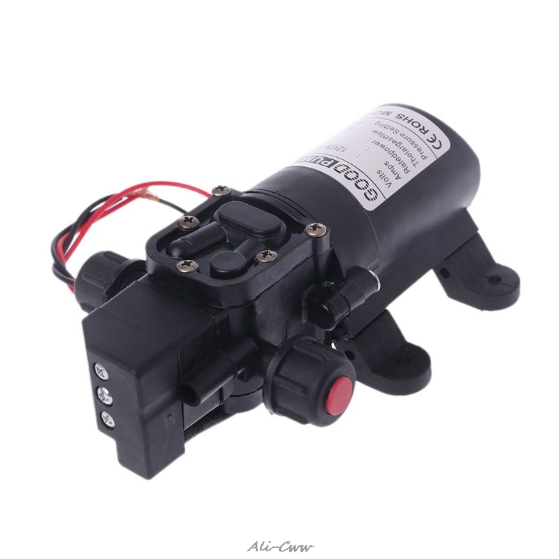 Image 4 - DC 12V 130PSI 6L/Min Water High Pressure Diaphragm Self Priming Pump 70W-in Pumps from Home Improvement