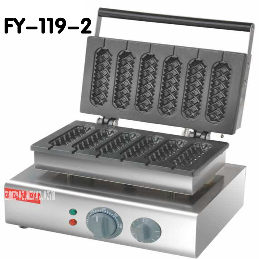 1 ADET FY-119-2 110 V 220 V Ticari Kullan Electric corn dog waffle maker_lolly hot dog waffle makinesi makinesi1 ADET FY-119-2 110 V 220 V Ticari Kullan Electric corn dog waffle maker_lolly hot dog waffle makinesi makinesi