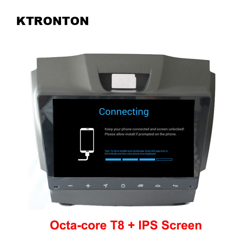 IPS Screen ! Octa-core T8 Android 8.1 Car DVD Player for Isuzu D-max MU-X Chevrolet Trailblazer Colorado S10 Radio GPS Glonass цена